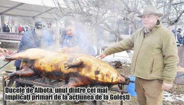Cei 17 porci sacrificaţi la Goleşti au ajuns  la 1.000 de copii şi bătrâni instituţionalizaţi 5