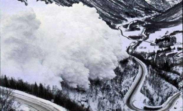 Risc însemnat de avalanşă în Făgăraş 5