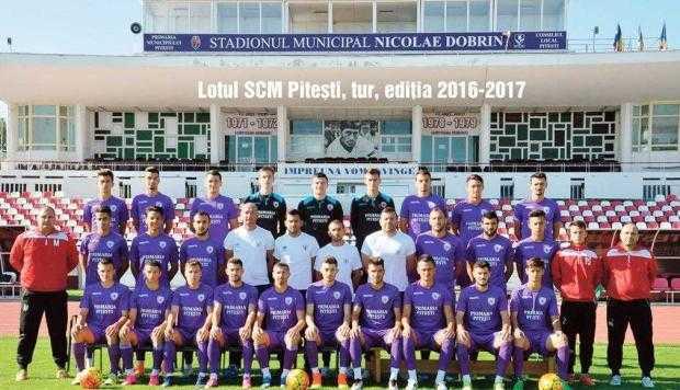 SCM Piteşti domină la toate capitolele la final de tur de campionat în Liga a III-a 4