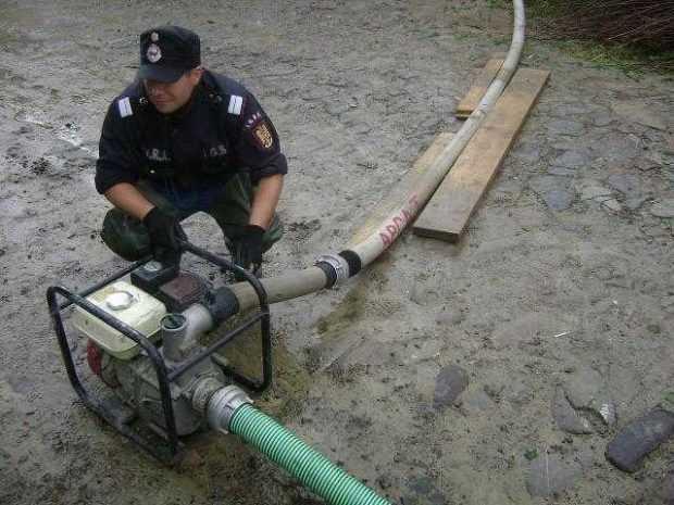 pompieri motopompe