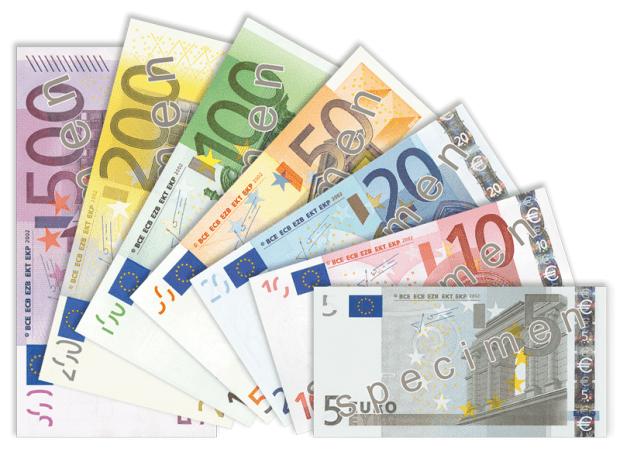 scadere euro