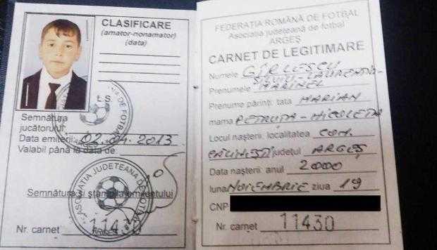 13 legitimatie