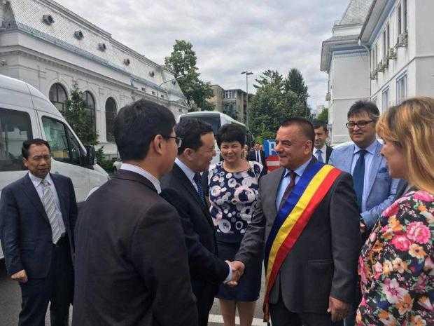 O delegaţie de oameni de afaceri chinezi a vizitat Argeşul 5