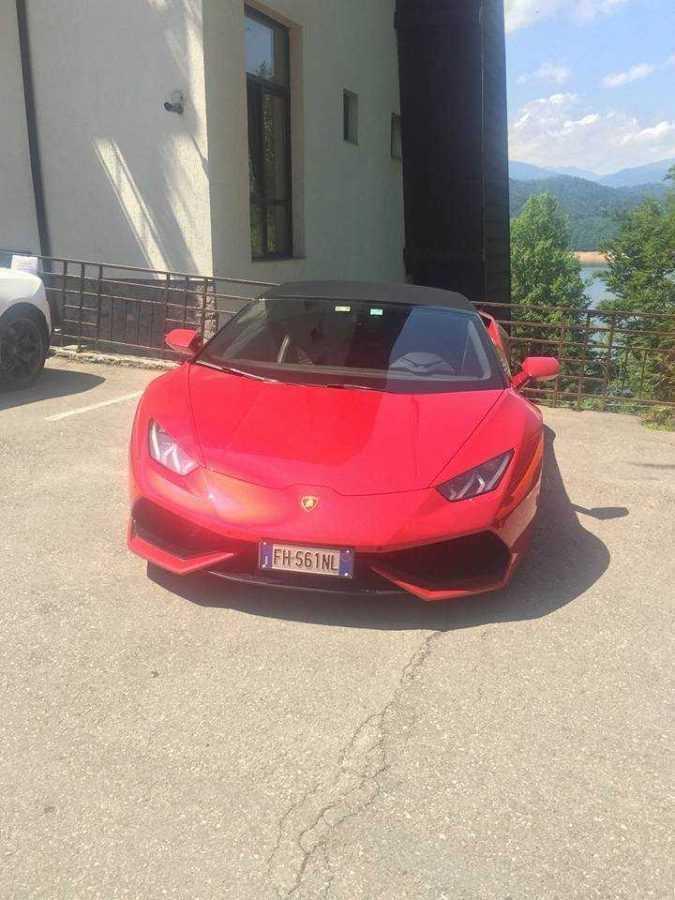 Lamborghini a ales Transfăgărașanul ca să îşi promoveze maşinile 5
