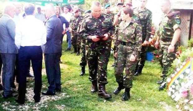 inmormantare militari