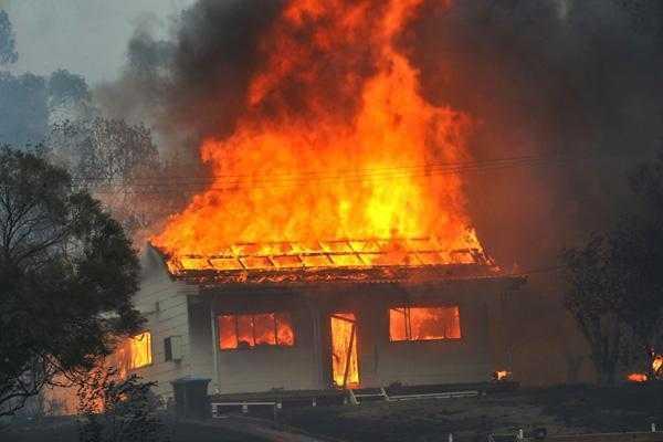 incendii violente