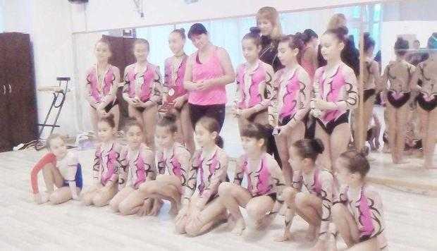 6 gimnaste