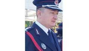 Maiorul Alin Berevoescu, prim-adjunct la ISU Argeş 6