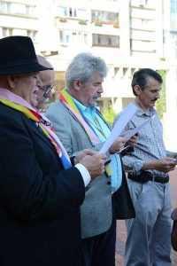 Imnul național printat pe foi pentru ca oficialitățile să nu se încurce 5