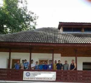 Studenții de la Facultatea de Istorie a UPIT reiau cercetările în situl de la Buridava 3