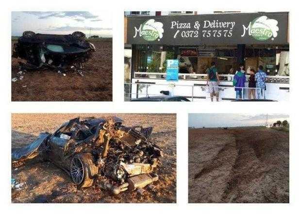 Patronul pizzeriilor Maestro a murit gonind cu 200 de kilometri la oră 5