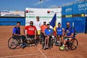 40 de persoane cu dizabilități, la Turneul Internațional de Tenis pentru persoane cu handicap 5