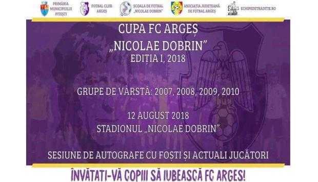 Turneu în memoria lui Dobrin, la 65 de ani de la înfiinţarea FC Argeş 6