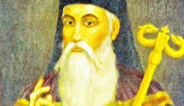 Mitropolitul Teodosie al Ţării Româneşti, fostul egumen  al Mănăstirii Curtea de Argeş 5