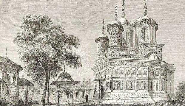 Mitropolitul Teodosie al Ţării Româneşti, fostul egumen  al Mănăstirii Curtea de Argeş 7