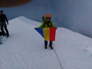 Salvamontist argeșean pe Mont Blanc 6