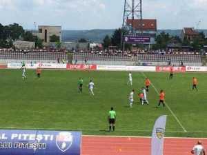 FC Argeș, debut cu victorie în Liga a II-a. Directorul Dragoș Șerban, înjurat de suporteri tot meciul 1