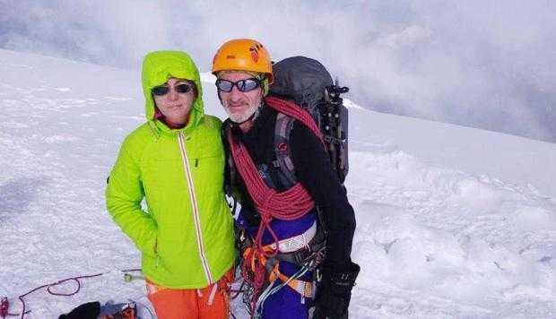 Un salvamontist argeşean a escaladat Vârful Mont Blanc 2
