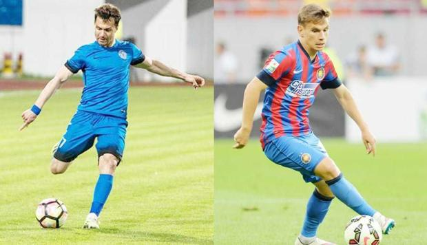 Gheorghe Vasile şi Rareş Enceanu, în pregătire cu FC Argeş 5