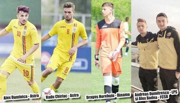 """Jucătorii """"de naţionale""""  crescuţi în Argeş evoluează pentru echipe de club din afara judeţului 5"""