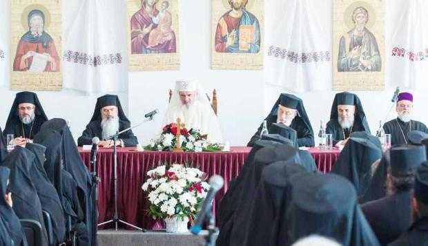 ÎPS Calinic, lângă Patriarhul Daniel la un eveniment cu mai-marii bisericii ortodoxe 4