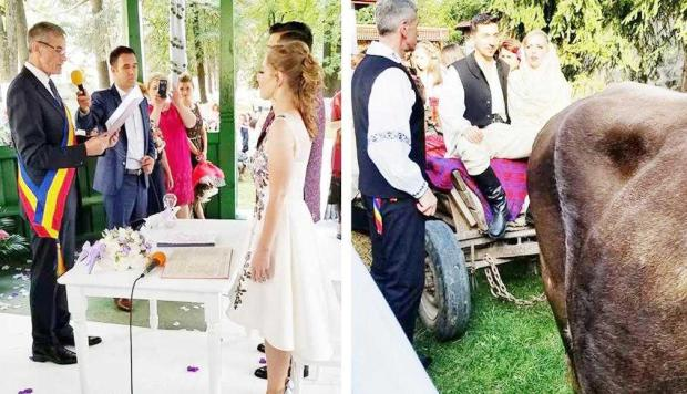 Primarul din Rucăr şi-a măritat fata 4