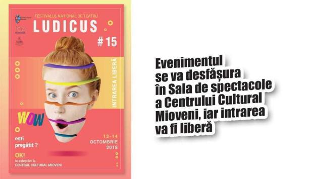 Oraşul Mioveni găzduieşte a XV-a ediţie a Festivalului Naţional de Teatru Ludicus 5