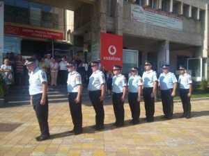 De ziua lor, pompierii au defilat prin Piața Vasile Milea 12
