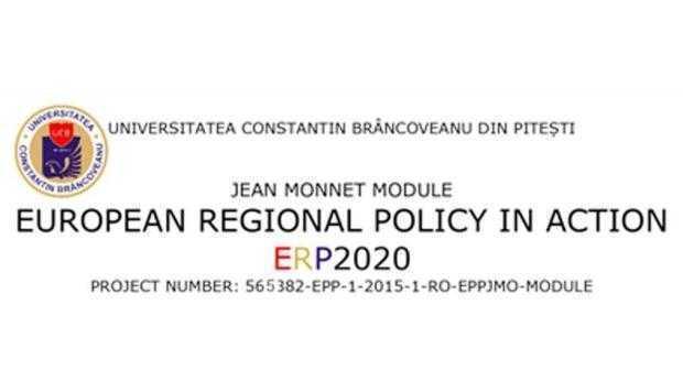 Modulul Jean Monnet  de la Universitatea Constantin Brâncoveanu, la moment de bilanţ 5