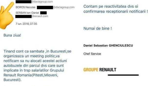 Exploziv! Culisele schimbării şefului de la Dacia 6