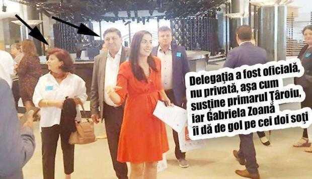Cu Ţâroiu la psihiatru...  Nevasta primarului  de Câmpulung, inclusă  în delegaţia edililor argeşeni duşi de Zoană la Bruxelles 4