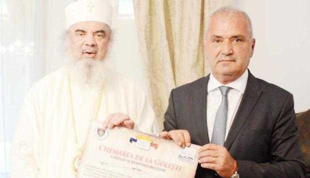 Patriarhul Daniel s-a întâlnit cu preşedintele CJ Argeş 5