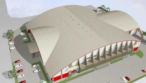 S-au reluat lucrările la Sala Sporturilor din Mioveni 6
