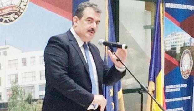 Andrei Gerea, prezent la deschiderea anului universitar la UPIT 4