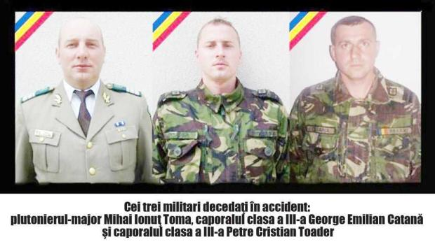 Ancheta în cazul militarilor morţi la Valea Urdii nu s-a finalizat nici după  un an şi trei luni 5