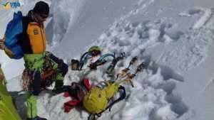 """Argeșeanul Teo Vlad, în Himalaya: """"Plecăm spre tabăra de bază Pumori cu încredere..."""" 9"""