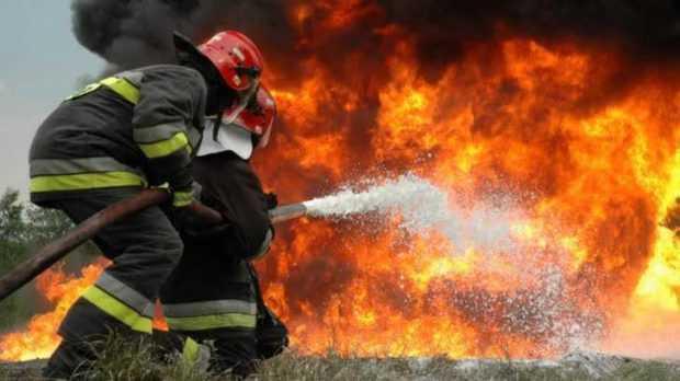 Incendii în Pitești, Popești, Corbeni și Bascov 5