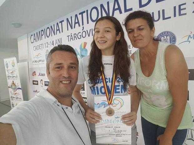 Bianca Mândruță, singura argeșeancă la Concursul Țărilor Central Europene de Înot 4
