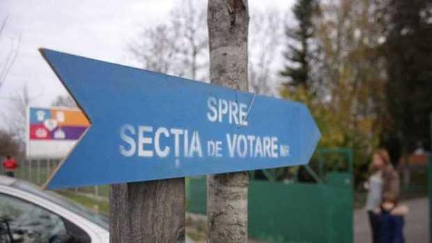 Incident la o secție de votare din Pitești 5