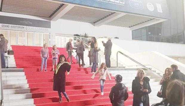 Lavinia Năstase s-a prezentat ziariştilor de la Nisa drept... actriţă 5