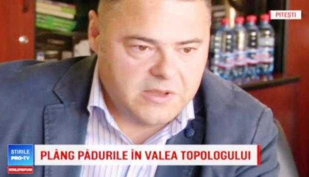 Zugrăvit ca protector al hoţilor la Pro TV, Chiriloiu condamnă corupţia pe site-ul Direcţiei Silvice 5