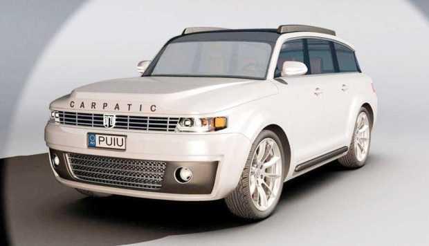 Un pasionat 3D lansează un concept nou pentru maşina ARO 5