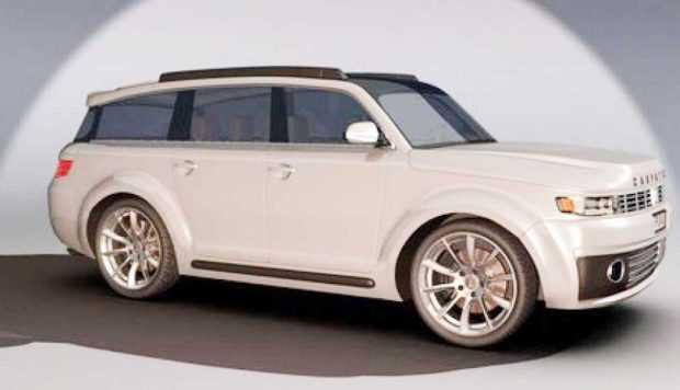 Un pasionat 3D lansează un concept nou pentru maşina ARO 6