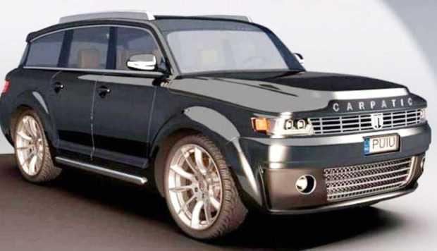 Un pasionat 3D lansează un concept nou pentru maşina ARO 7