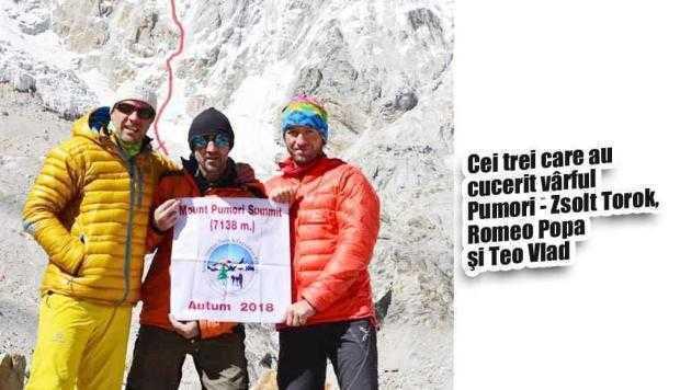 Exclusiv. Alpinistul Teo Vlad povesteşte în Jurnalul de Argeş despre ultima ascensiune în Himalaya 5