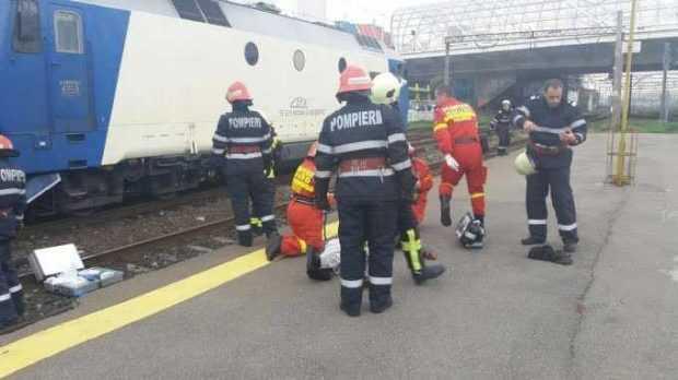 Bărbat lovit mortal de tren la Leordeni 5