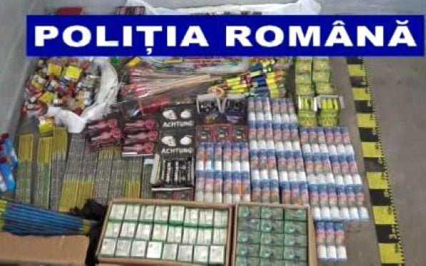 Articole pirotehnice comercializate ilegal în Pitești și Câmpulung 5