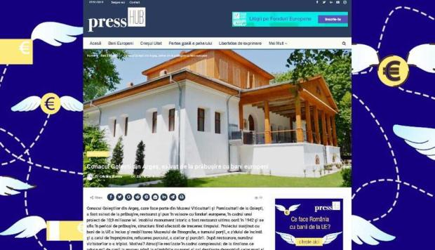 Articolele noastre depăşesc graniţele judeţului. Patru subiecte din Jurnalul de Argeş - preluate în reţeaua naţională PressHub, cu 22 de publicaţii partenere 4