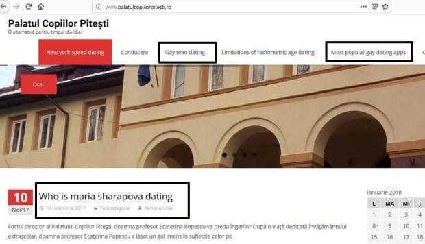 Texte pornografice pe site-ul Palatului Copiilor Piteşti de peste un an 5