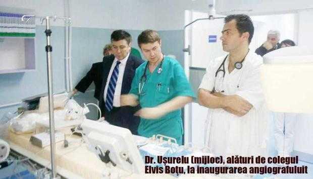 Cardiologul Uşurelu şi-a suspendat activitatea la Spitalul Judeţean 4